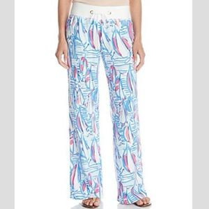 Lilly Pulitzer Beach Pant, Red Right Return